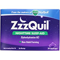 ZzzQuil LiquiCaps - 24 ct, Pack of 3