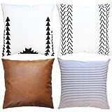 Amazon.com: AENEY - Juego de 6 fundas de almohada ...