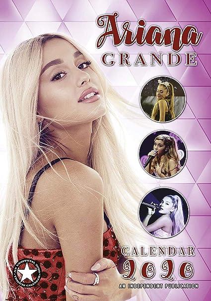 Calendario Ariana Grande 2020.Close Up Calendario Ariana Grande 2020 Tribute Calender