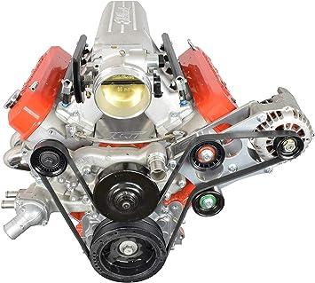 LSX Front Engine Plate 1 piece Aluminum Chevy Solid Motor Mount Block LS LS1 551805