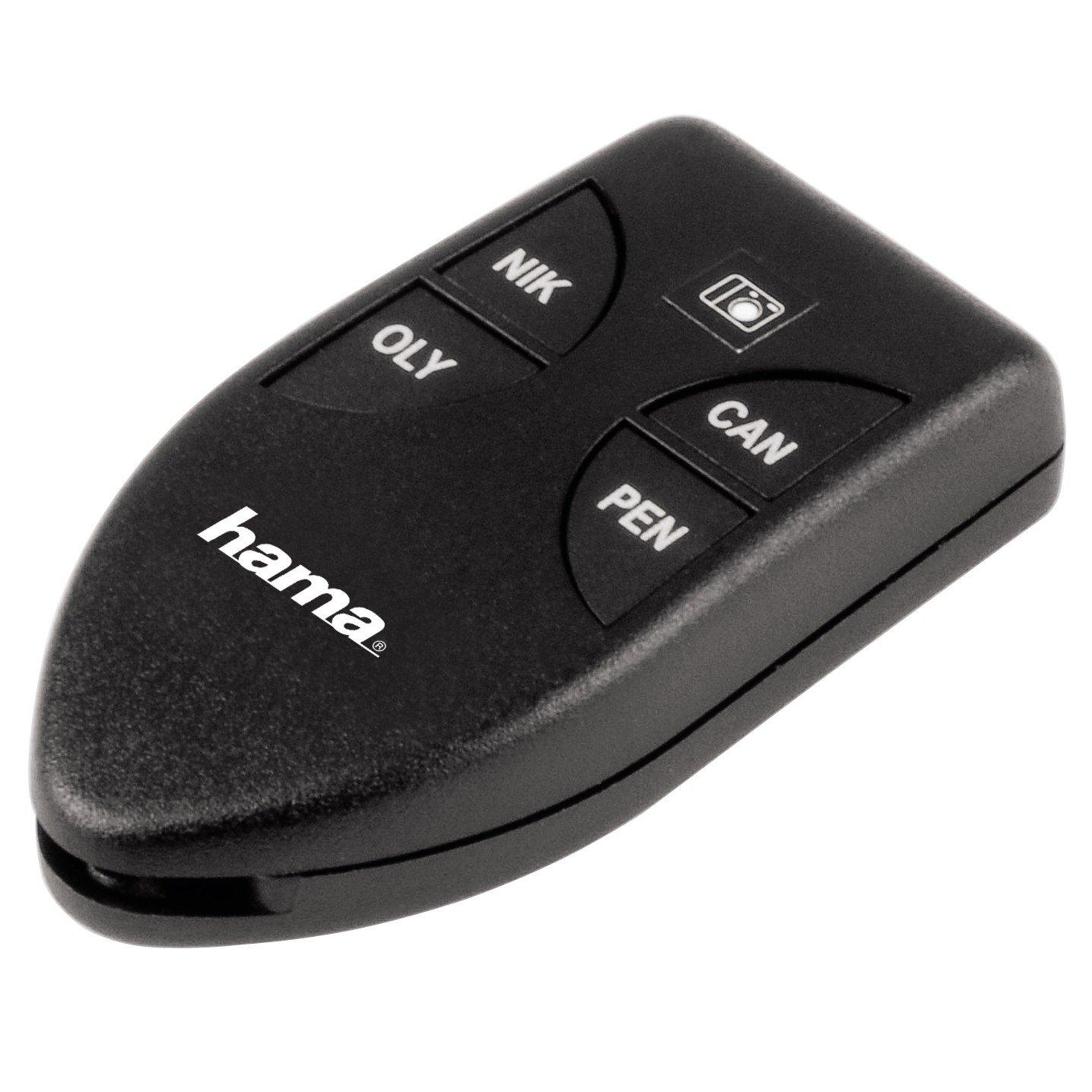 Mini 2 Universal IR control remoto Release para DSLR cameras Hama 70 x 36 x 15 mm Litio-Ion