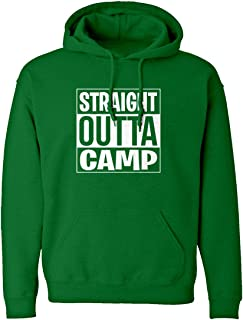 Indica Plateau Straight Outta Camp Unisex Adult Hoodie 3685-H