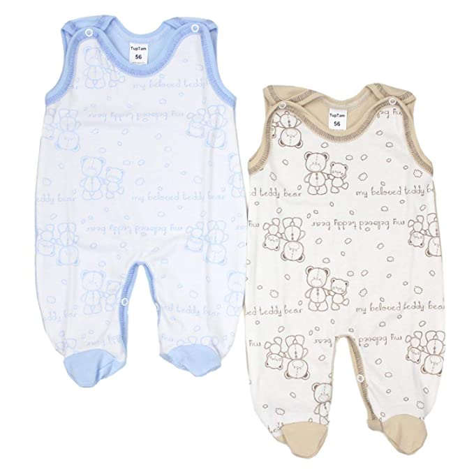 TupTam Peleles para Bebés con Estampados, Paquete de 2 ...