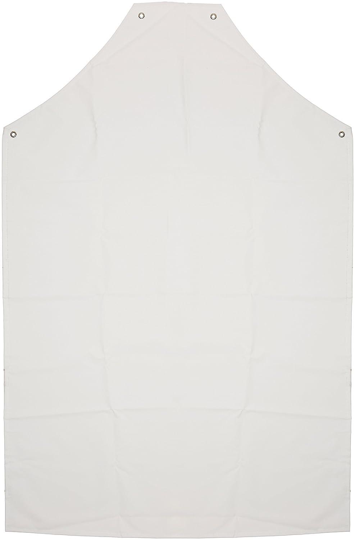 Prossor AP416 48x36 Pvc/nylon Apron White (Each) AP416/48W