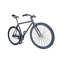 Wizard Industry Helliot Soho 5303 - Bicicleta fixie, cuadro de acero, frenos V-