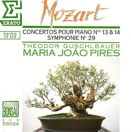 Concertos pour Piano No 13 et 14 - Symphonie No 29