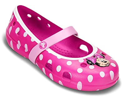 Crocs Girl's Keeley Minnie Mary Jane Flats: Buy Online at Low Prices in  India - Amazon.in