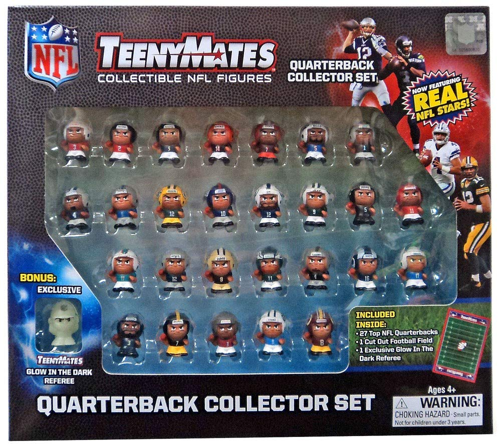 The Party Animal TennyMates Collectible NFL Figures Quaterback Set by Party Animal (Image #1)