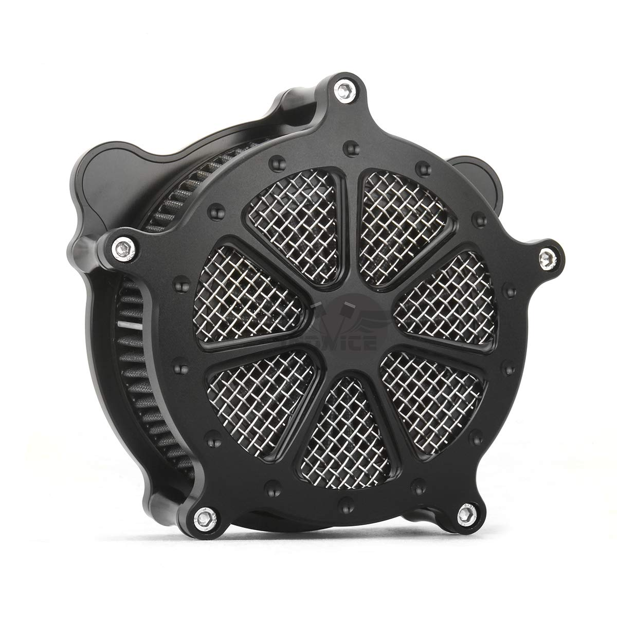 Black AIR CLEANER kits for harley trike air cleaners road glide flhr flhx fltr air filters 2008-2016,air cleaner softail 2016-2017   B07M7X5S6V