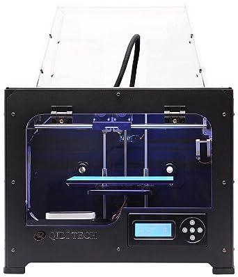 QIDI TECH doble extrusora Desktop impresora 3D, Fully Metal ...