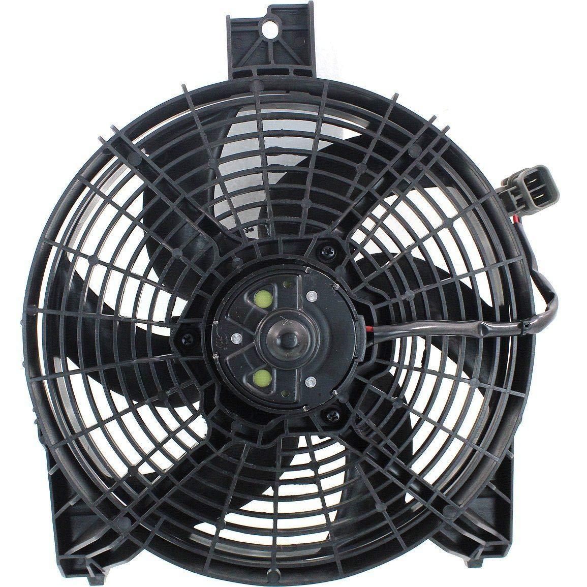 Sunbelt AC Condenser Fan Assembly For Nissan Titan Armada NI3113109 Drop in Fitment