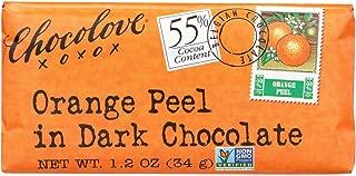 product image for Chocolove Xoxox - Premium Chocolate Bar - Dark Chocolate - Orange Peel - Mini - 1.2 oz Bars - Case of 12