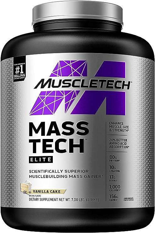 Muscletech Suplemento para Deportistas Mass Tech Performance ...