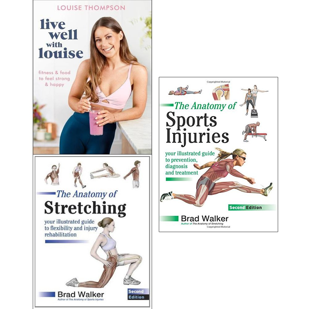 Live Well With Louise Anatomy Of Stretching And Sports Injuries 3