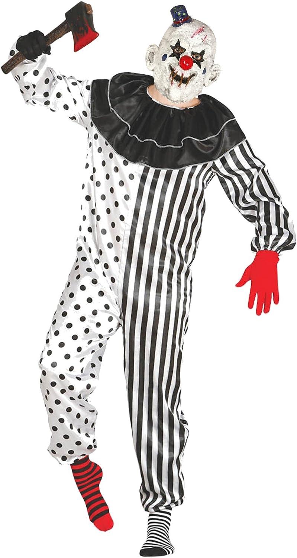 Disfraz de Payaso Asesino Chistera - L: Amazon.es: Ropa y accesorios