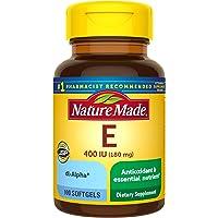 Nature Made Vitamin E 400 IU Softgels, 100Ct (Pack of 3)