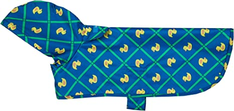 RC Pet Products Packable Dog Rain Poncho Rubber Ducky XX-Large