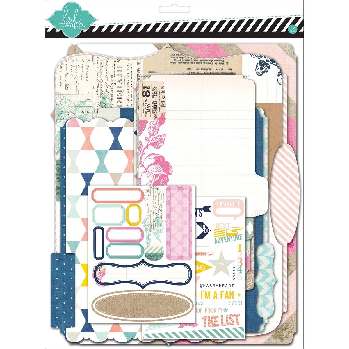 Heidi Swapp Memory Files Kits American Crafts 01103