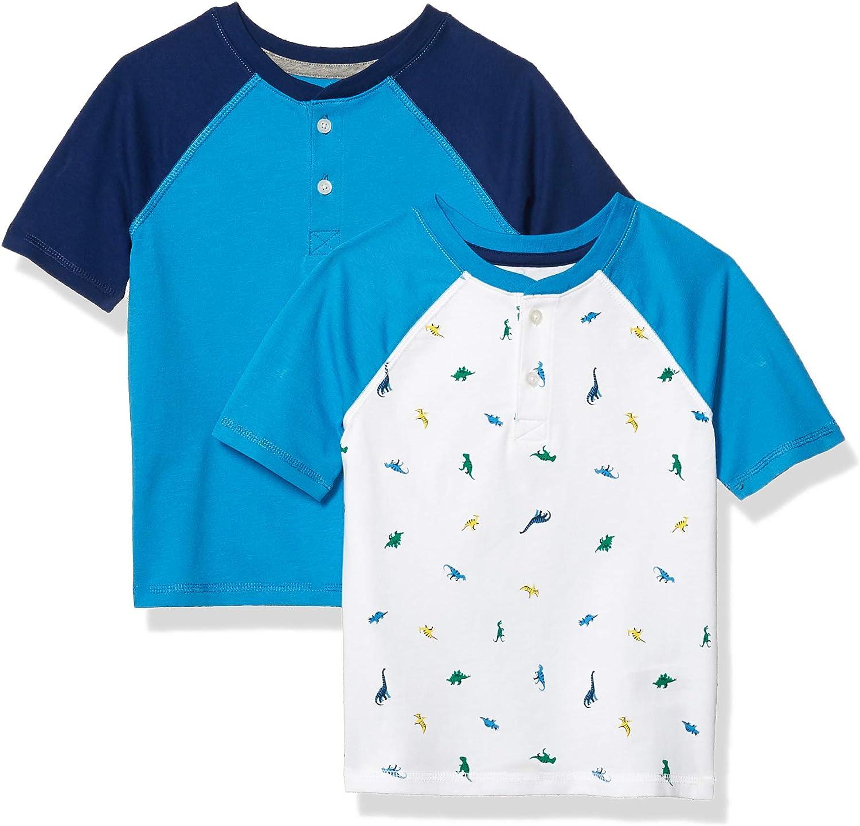 Essentials Boys Short-Sleeve Henley T-Shirts