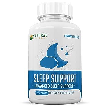 Sleep Aid - Melatonin 5mg - Fast Acting Formula - Promotes Deep Rest - Supports Relaxation