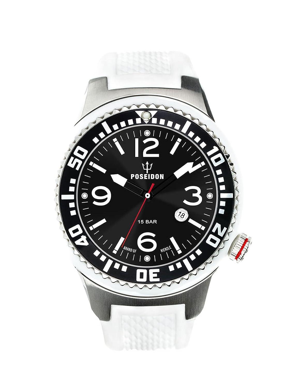 Kienzle Herren-Armbanduhr POSEIDON L Analog Quarz Silikon K2093013063-00402