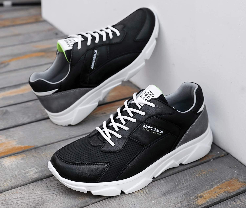 ARRIGO BELLO Baskets Homme Chaussure Sneakers Casual Soulier Sport Running Espadrilles Athl/étique Fitness Tennis 40-46