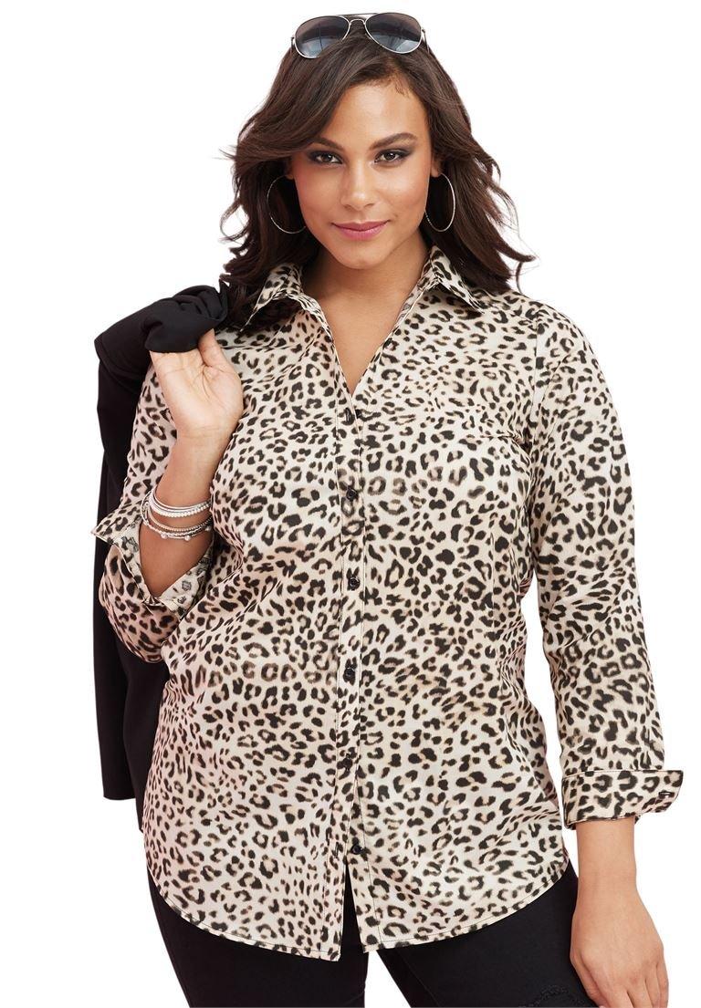Roamans Women's Plus Size The Kate Shirt
