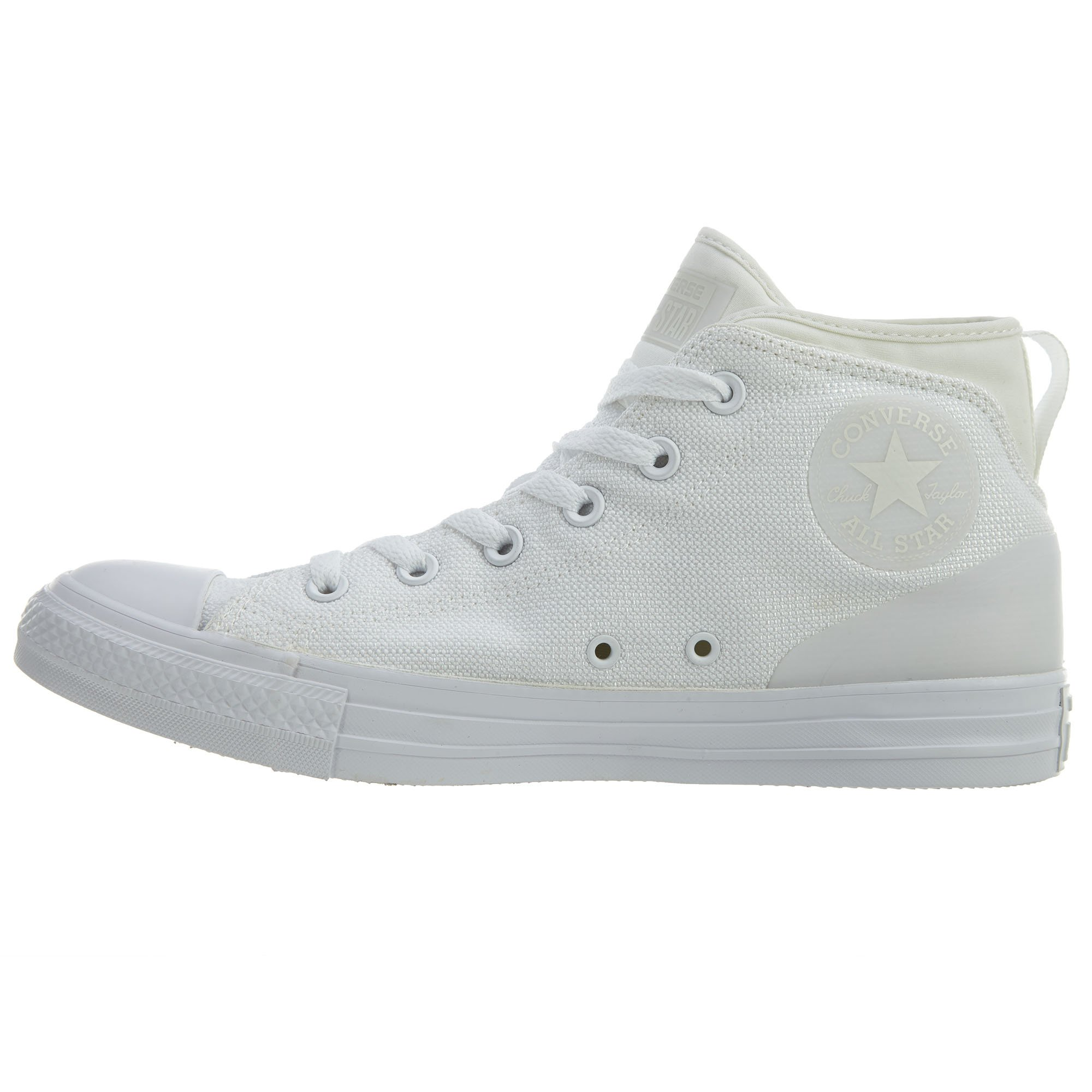 White All Star Street Converse Scarpa Mid Syde 7PBWYgd
