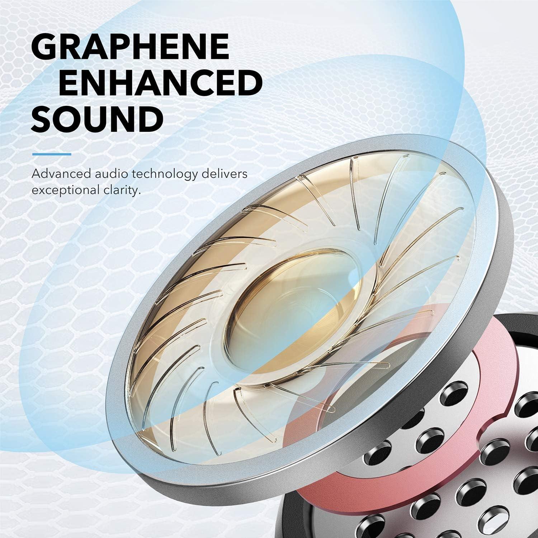 Auriculares Bluetooth Anker Soundcore Liberty, Auriculares inalámbricos con reproducción de 100 h, Bluetooth 5, Controladores mejorados con grafeno, Impermeables con Smart AI: Amazon.es: Electrónica