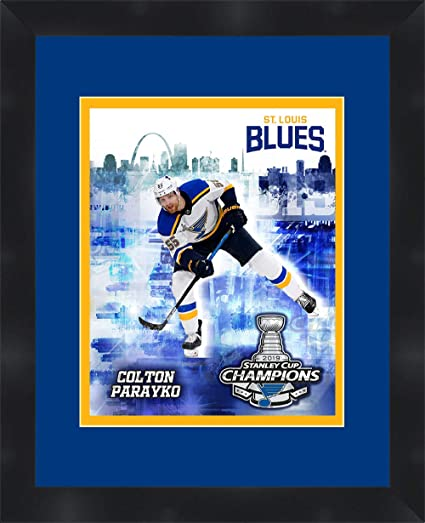 St Louis Blues 55 Colton Parayko Framed