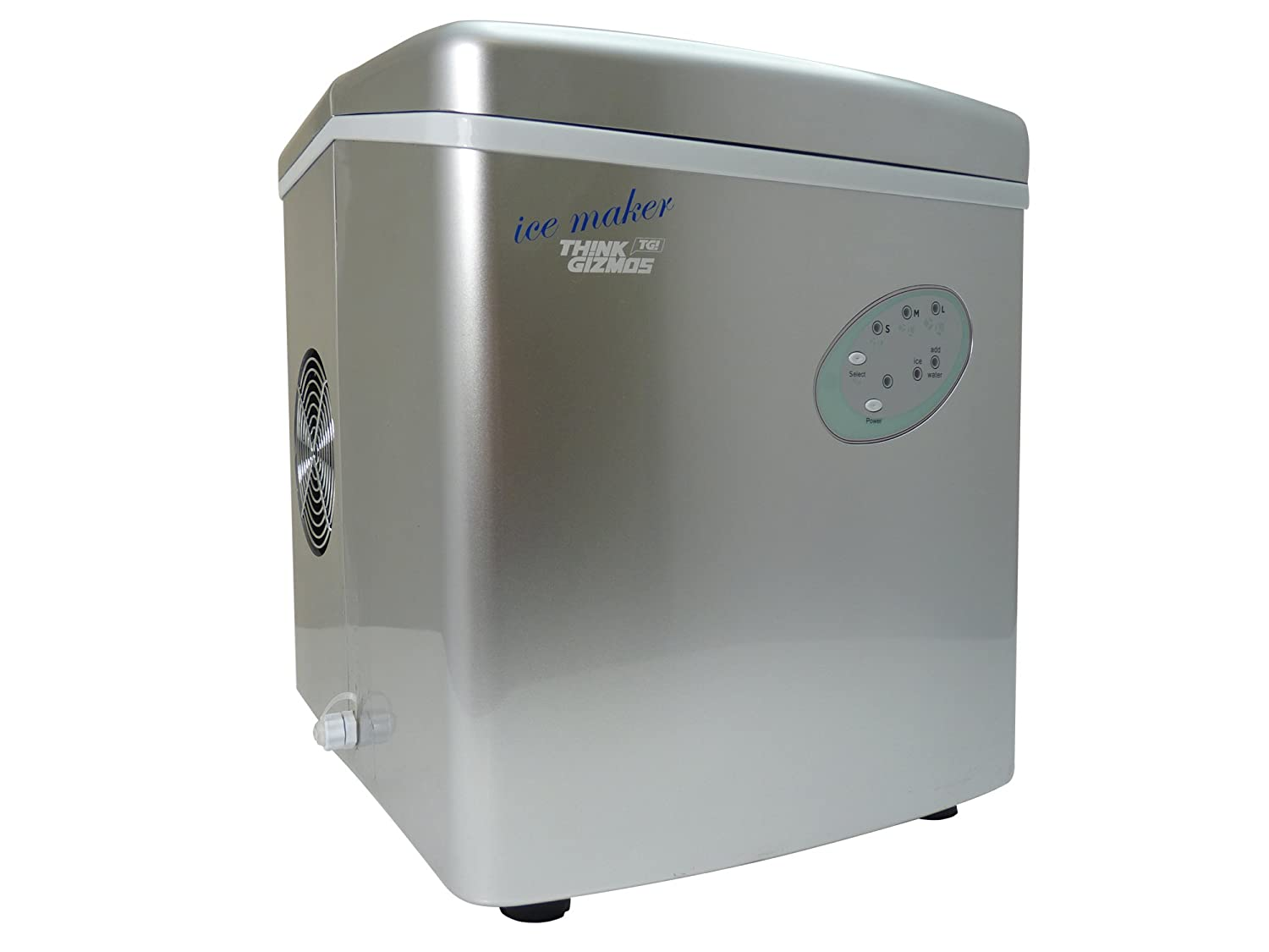 Ice Maker Machine Counter Top New Compact Model No Sub Zero Wiring Diagram Plumbing Required 15kg In 24 Hours By Thinkgizmos Trademark Protected