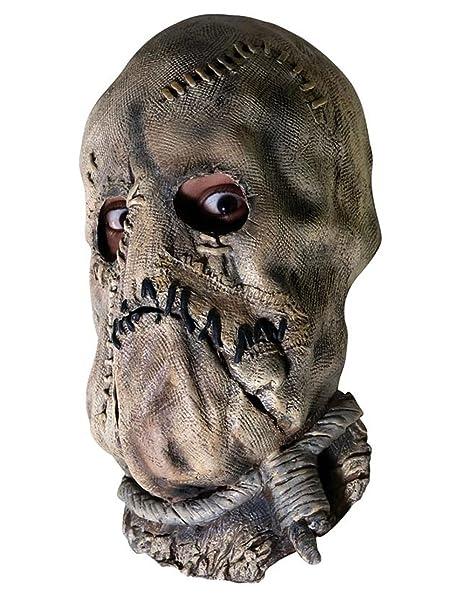 Disfraz de caballero oscuro Accessory, para hombre de espantapájaros 3/4 máscara