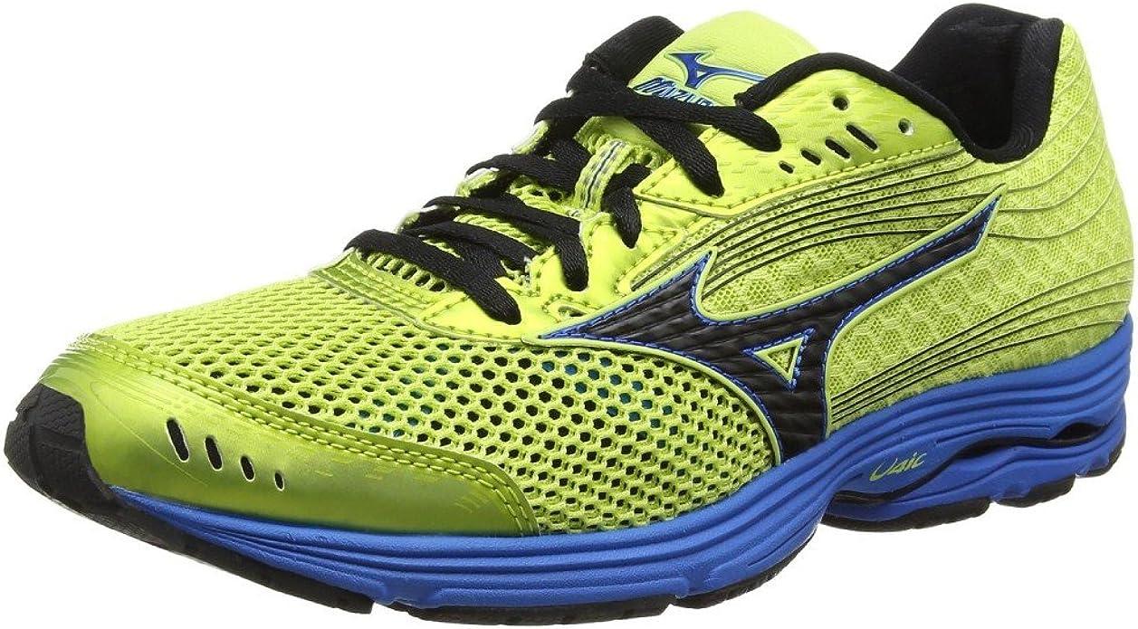 Mizuno - Mizuno Wave Sayonara 3 Scarpe Running Uomo Gialle - Amarillo, 46,5: Amazon.es: Zapatos y complementos