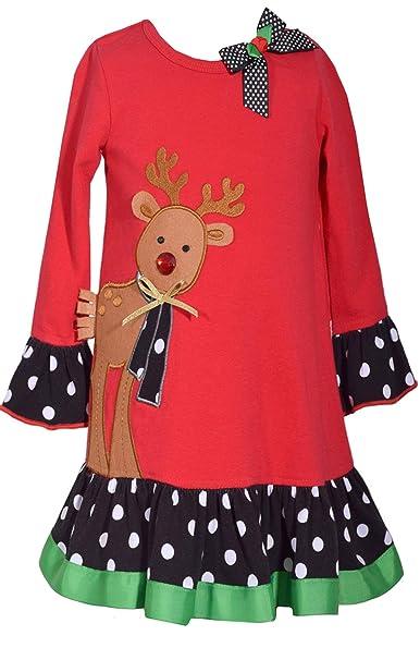 Amazon.com: Bonnie Jean - Vestido de reno para niños y niñas ...