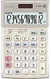 カシオ 本格実務電卓 検算・税計算 ジャストタイプ 12桁 JS-20WK-GD
