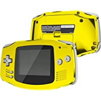 IPS Ready Upgraded eXtremeRate Chrome Gold Glossy Replacement Shell Full Housing Cover w/ Buttons for Gameboy Advance…