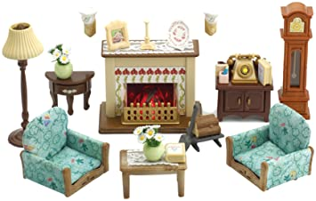 sylvanian families drawing room set - Sylvanian Families Living Room Set
