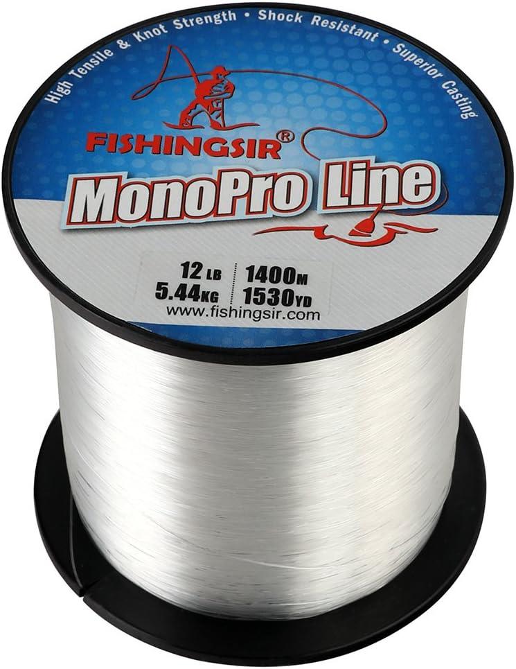 6LB-30LB Magreel Monofilament Fishing Line Abrasion Resistant Leader Line Strong Nylon Material Fishing Line Ice Fishing Line 300Yds