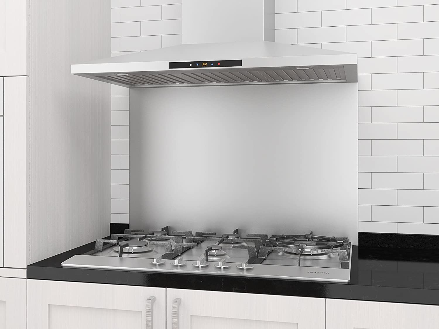 Stainless Steel 30-Inch Ancona Chef WPC430 Wall-Mounted Pyramid Style Convertible Range Hood