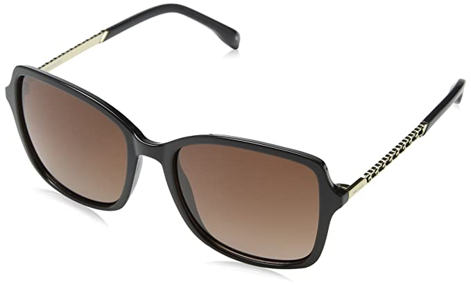 KAREN MILLEN Km500200155 Gafas de Sol, Negro (Black), 55 ...