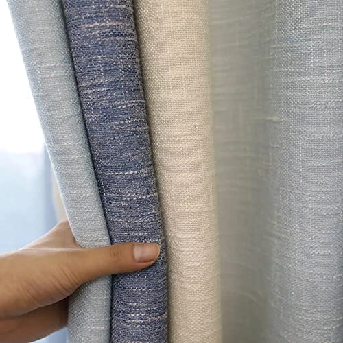 AiFish Striped Grommet Semi Blackout Curtains 96