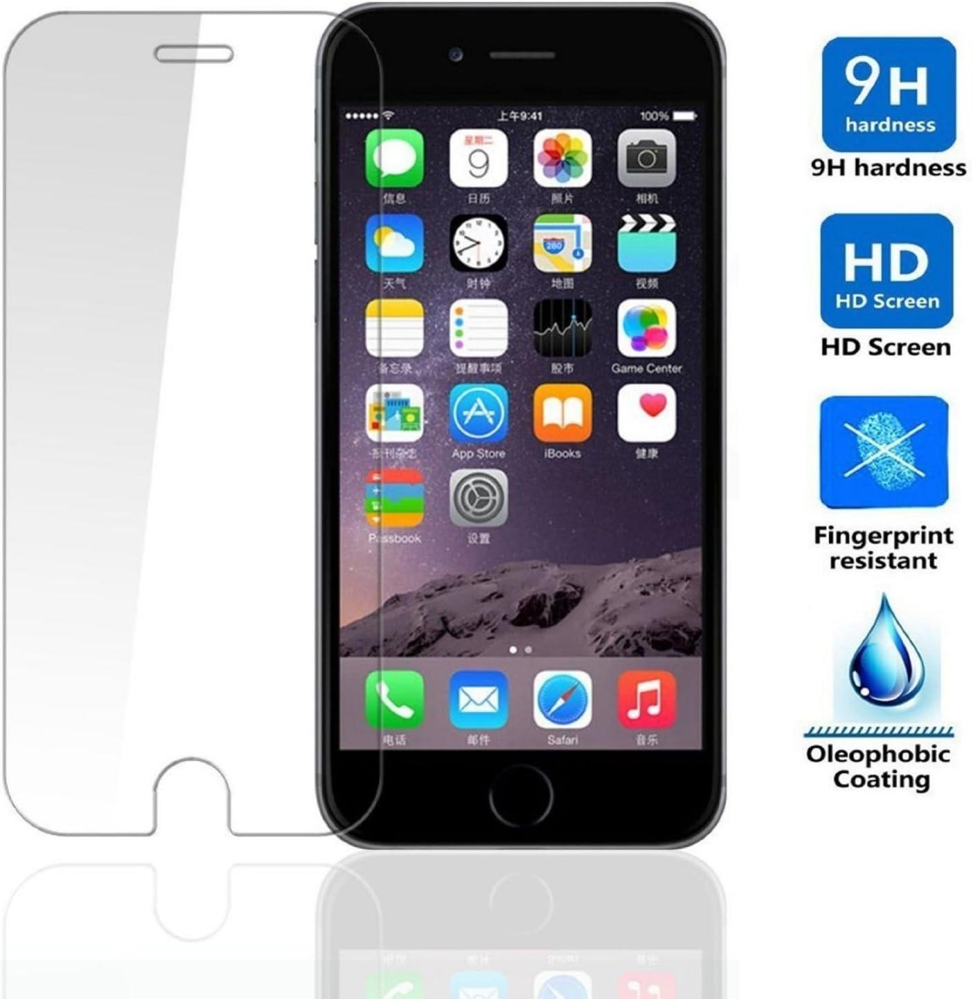 REY Protector de Pantalla para iPhone 6 6S 4.7