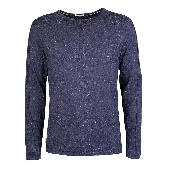 Tommy Jeans Herren Knit Langarm T Shirt