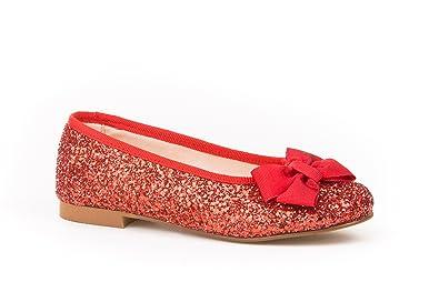 Neu Kinderschuhe Kinder Balerina Mädchen Schuhe 25 26 27 28 29 30 31 32 Qualität