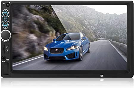 Doppel Din Autoradio 17 8 Cm 7 Zoll Touchscreen Auto Mp5 Player Unterstützung Rückfahrkamera Fm Radio Auto Audio Mit Freisprecheinrichtung Spiegel Link Navigation