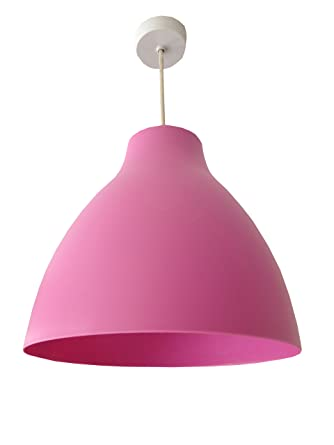 New homebase rose pink dome pendant ceiling light lamp shade new homebase rose pink dome pendant ceiling light lamp shade modern vintage mozeypictures Images