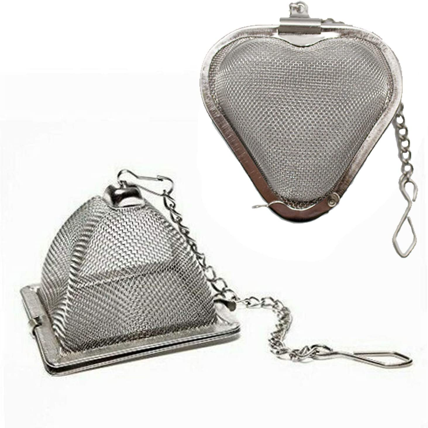 Steeped Tea Brand Pyramid Infuser Stainless Steel #9124   NIB
