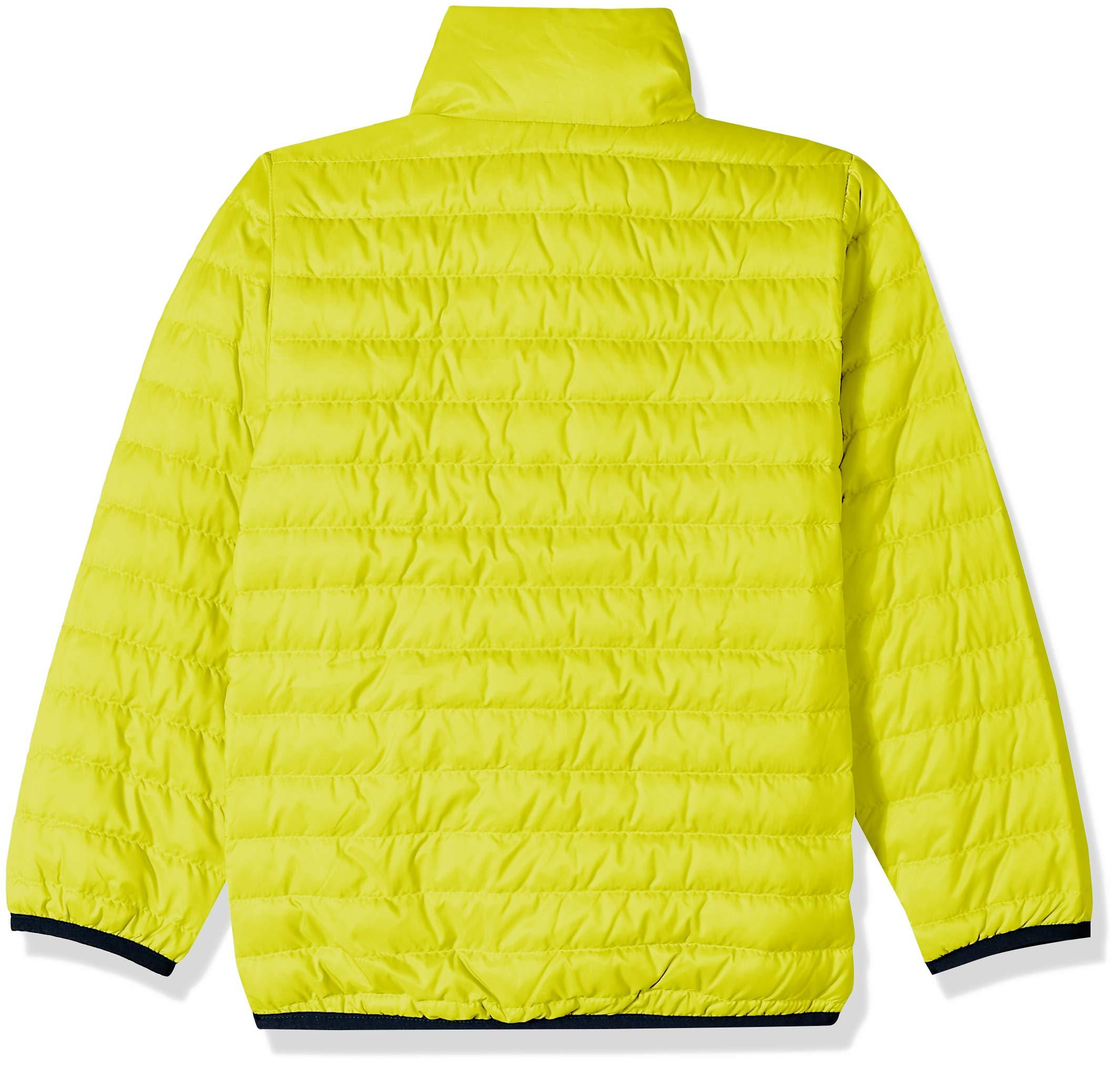 Helly Hansen K Barrier Down Insulator Jacket, Sweet Lime, Size 6 by Helly Hansen (Image #2)