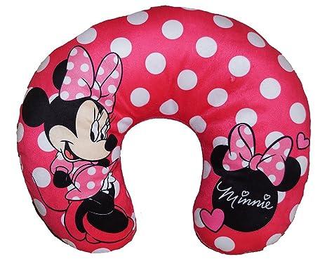 Amazon.com: Disney Minnie Mouse lunares almohada de cuello ...