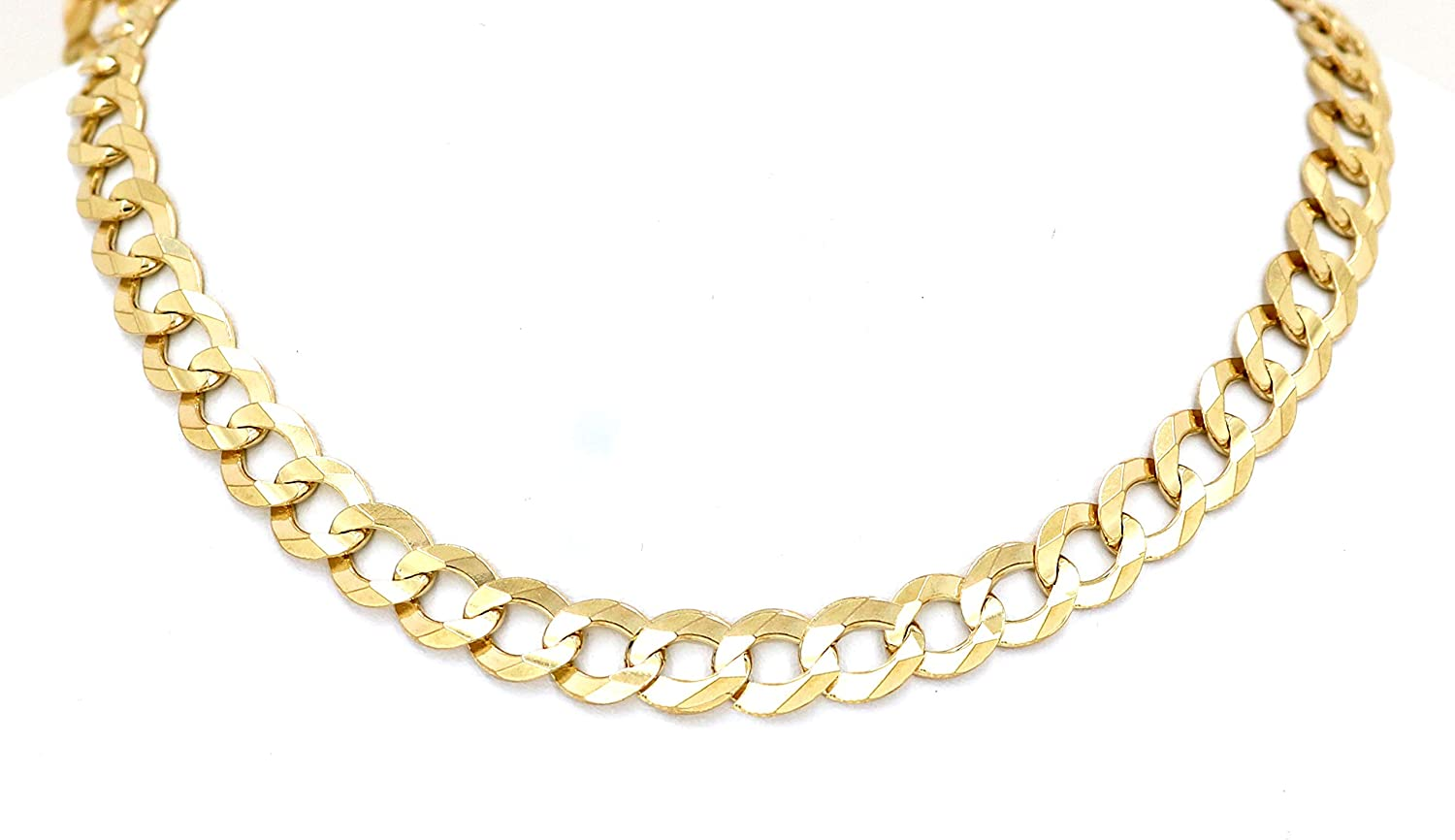 Jewels By Lux 14K Yellow Gold Double Link Hollow Rope Chain Necklace With Lobster Claw Clasp
